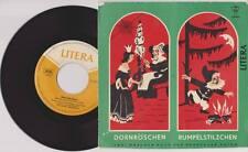 """DORNRÖSCHEN RUMPELSTILZCHEN 7"""" Vinyl LITERA 1964 Kinder Brüder Grimm * RAR"""
