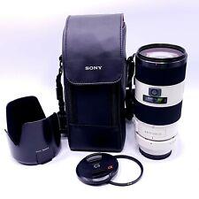 Sony Alpha SAL 70-200mm f/2.8 APO AF SSM G Lens for A Mount (SAL70200G)