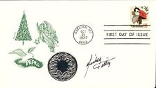 MICKEY GILLEY - FIRST DAY COVER SIGNED