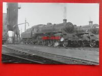 PHOTO  BR  STANDARD CLASS 4  LOCO NO 75057 AT LEICESTER 10/5/60