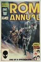 ROM ANNUAL 3 / MARVEL COMICS English / 6.0 FINE + 1984