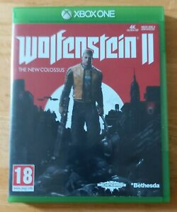 Wolfenstein ll The New Colossus (Xbox, 2017) UK game
