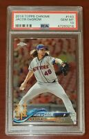 2018 Topps Chrome #143 Jacob deGrom Mets Cy Young PSA 10 GEM MINT New Holder