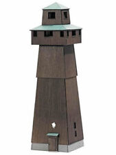 Busch 1435 Lupfenturm Aussichtsturm echt Holz Bausatz fertig coloriert H0 Neu