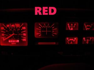 Gauge Cluster LED Dash kit Red For Ford 80 86 F100 F150 F250 F350 Truck