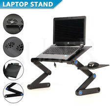 Portable Adjustable Foldable Laptop Stand Desk Sofa Bed Table Home Computer Tray