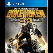 Sony PS4 Playstation 4 Spiel Duke Nukem 3D 20th Anniversary World Tour deutsch