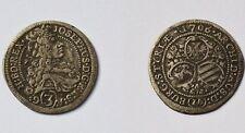 Habsburg RDR 3 Kreuzer Silber 1,63 g Silbermünze 1706 IA Graz Joseph I. Selten!