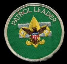 BSA Boy Scout of America Patrol Leader Patch CIRCLE