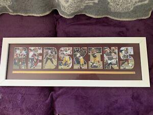 RG3 Sean Taylor Washington Redskins Framed Picture Licensed NFL Hanging Wall Art