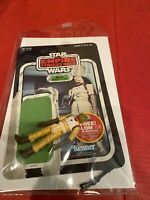 Star Wars Bossk! COMPLETE!! 1980 Empire Strikes Back Bounty Hunter W Card Back