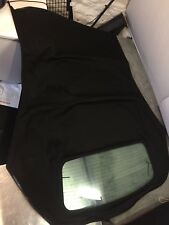 AUDI A4 HOOD / ROOF IN BLACK MOHAIR WITH GLASS REAR WINDOW CLEARANCE STOCK