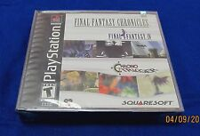 PS1 Final Fantasy Chronicles ~ New Factory Sealed ORIGINAL Game ~ Black Label ~