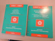 Manual de diagnóstico de taller de mano libro Spirit Acclaim Caravan Voyager Town & countr