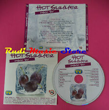 CD Hot Summer Disco 80 4 compilation duran talk simple minds no mc dvd vhs(C35*)