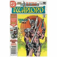 Warlord (1976 series) #48 Newsstand in Very Fine condition. DC comics [*mk]