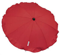 Universal Baby Umbrella Waterproof Fit Quinny Buzz/Zapp pram/stroller Dark Red