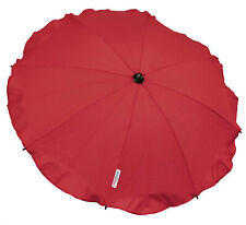 Universal Baby Umbrella Waterproof Fit Maclaren Triumph PRAM Dark Red