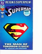 Superman #78 Die Cut Cover! FREE SHIPPING AVAILABLE!