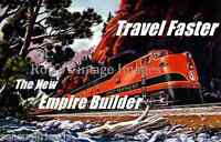 The New Great Northern Railroad Empire Builder Seattle Chicago Train 1946