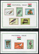 Ghana 194a 199a, MNH, Wild Animals Birds. x2929