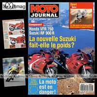 MOTO JOURNAL N°1117 SUZUKI RF 900 R HONDA VFR 750 BMW K 75 LIMITED PARIS-DAKAR