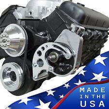 Short Water Pump Big Block Chevy Power Steering Bracket Saginaw Swp 427 454 Bbc