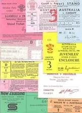 16 INT TOURISTS RUGBY TICKETS BUNDLE CARDIFF v AUSTRALIA, NEWPORT v NEW ZEALAND
