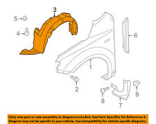 KIA OEM 10-13 Forte-Front Fender Liner Splash Shield Right 868121M000