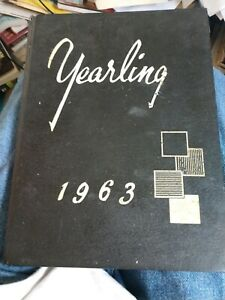 Vintage 1963 Cambridge High School Yearbook  Maryland Md.