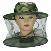 Unisex Mosquito Bee Bug Insect Mesh Head Face Protect Hot Hat Net Cap Mask N6U3