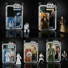 Star Wars Black Series 40th Anniversary R2-D2 Luke Han Leia Obi Wan NEW IN HAND