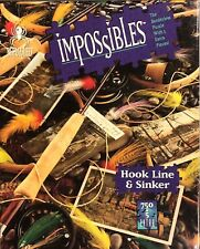 BePuzzled  Impossibles Hook Line & Sinker Jigsaw 750pc Puzzle +5 Extra Pieces