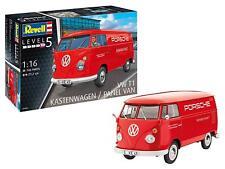 VW T1 Porsche Kastenwagen 1 16 Scale Level 5 Revell Model Kit
