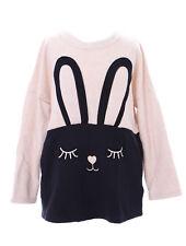 TS-80 Hase Rabbit Bunny beige schwarz Pastel Goth Lolita Pullover Sweatshirt
