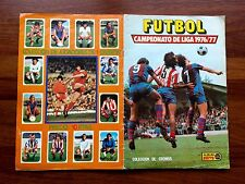 Álbum Fútbol Liga 1976-1977, 76-77 Edic Este Completo 288 Cromos +21 Dobles