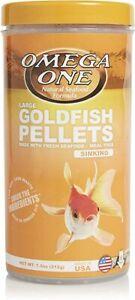 Omega One Goldfish Pellets SINKING