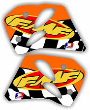 KTM FMF Shroud Graphics Kit 93-97 Sx mxc exc 125 200 250 300 380 decal sticker
