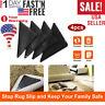 4/8/16 PCS Ruggies Rug Carpet Mat Grippers Non Slip Skid Reusable Washable Grip