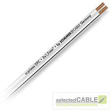 SOMMER CABLE SC PRISMA 2 x 1,5mm² OFC Lautsprecher Kabel Speaker | 401-0150-WS