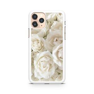 Wonderful Elegant Ravishing White Roses Pattern Camo Floral Phone Case Cover