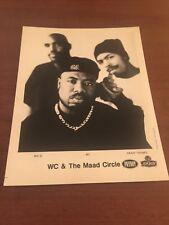 Wc & The Maad Circle Press Photo 90's West Coast Rap Hiphop Dub - 8 x 10