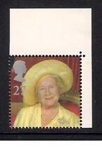 GB 2000 sg2160 Queen Mother's 100th Birthday 27p booklet stamp MNH
