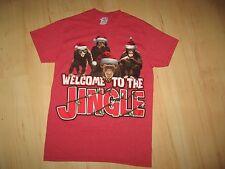 Chimpanzee Christmas Tee - Monkey Ape Weclome To The Jingle Holiday T Shirt Sm