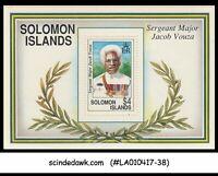 SOLOMON ISLANDS - 1992 Sergeant Major Jacob Vouza - Miniature sheet MNH