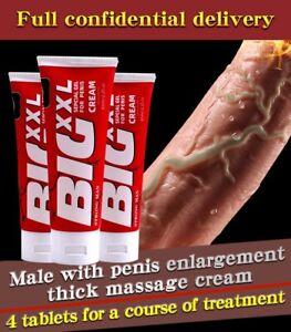 Big Dick Male Enlargement Oil XXL Cream Increase Size Erection Extender Enhance