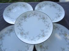 "set of 5  Noritake   ARLENE  8 1/4 "" Salad or Lunch  plates"