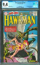 BRAVE AND THE BOLD #42  CGC 9.4 NM   ONE OWNER!   HAWKMAN!  A STUNNER!
