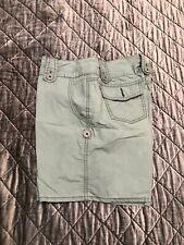 Mossimo Womens Cotton Green Shorts Size 7