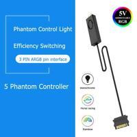 Jonsbo Desktop SATA Pin Power Supply ARGB Controller for 3Pin 5V Case LED Light